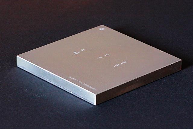 PAD印刷版 100x100x10t