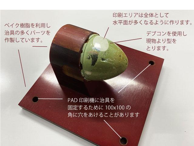 PAD印刷用治具